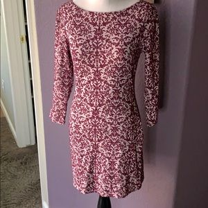 Xhilaration 3/4 sleeve fitted dress S